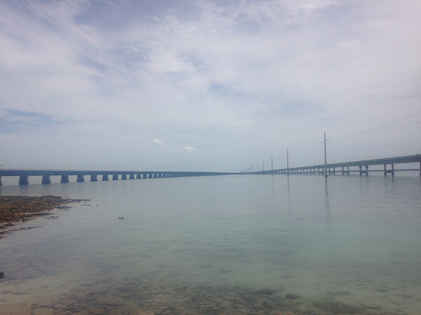 A sight of two bridges (from Pigeon Key)