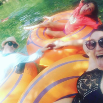 Tubing at Blue Spring State Park