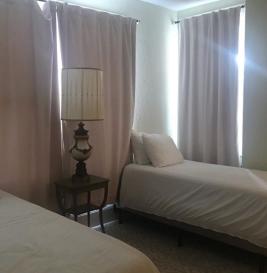 Second room in Deland Hotel suite